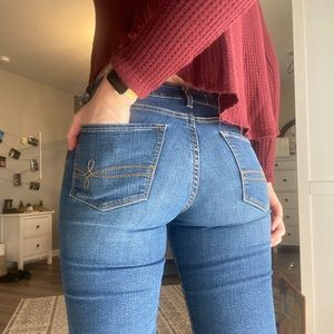 Denizen from Levi's med wash jeans
